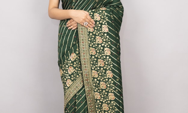 How to choose the perfect drape for your saree!