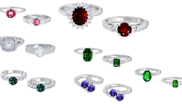 7 Gorgeous Rings - A Must Have Vanity Accessory