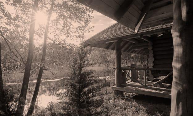 The Cabin Ahead