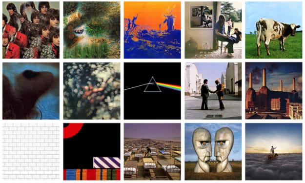 25 Greatest Songs of Pink Floyd
