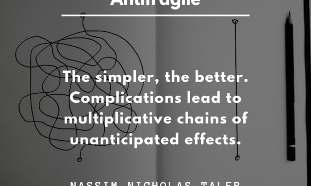 BE ANTIFRAGILE AND THRIVE ON SHOCKS