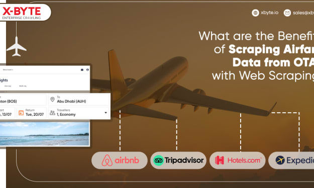 What are the Benefits of Scraping Airfare Data from OTAs with Web Scraping?