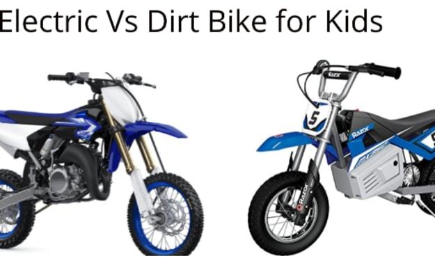 Electric Vs Dirt Bike for Kids