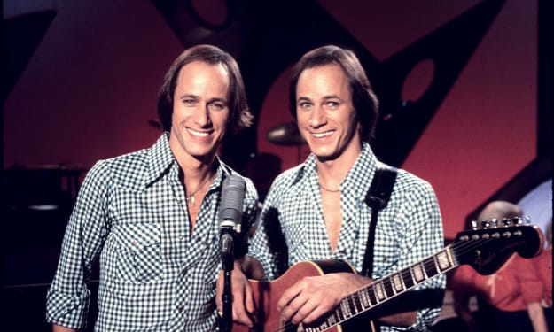 The Hager twins from Hee Haw