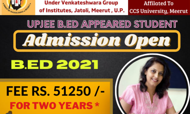 What are the things you have to keep in mind for admission in B.Ed college