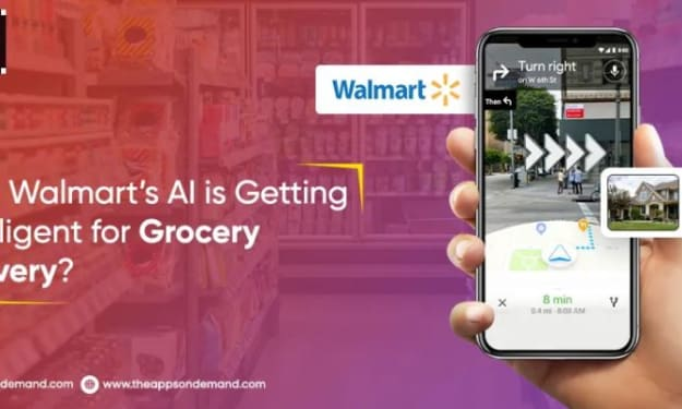 How Walmart's AI is Getting Intelligent for Grocery Delivery?