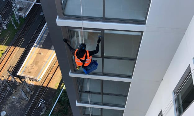 Who are Abseilers, Rope Hanging, or High Rise Cleaners