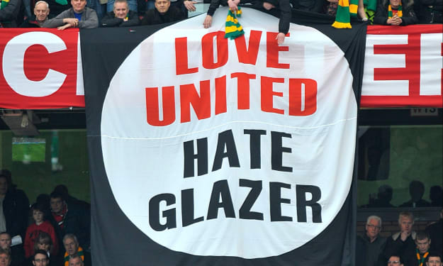 Manchester United: So We Want the Glazers Out!!