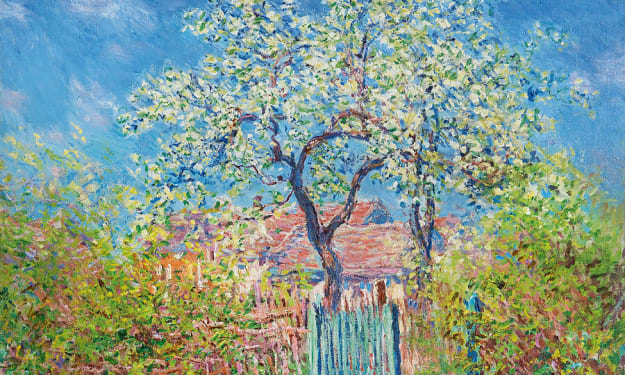 A Pear Tree on a Summer Day