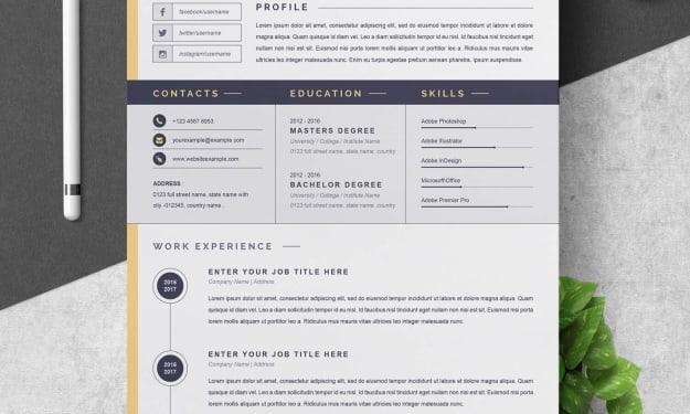 Senior Graphic Designer CV