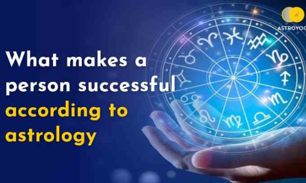 What Brings Success to a Person's Life According to Astrology?