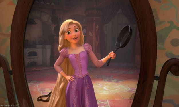 I couldn't be Rapunzel