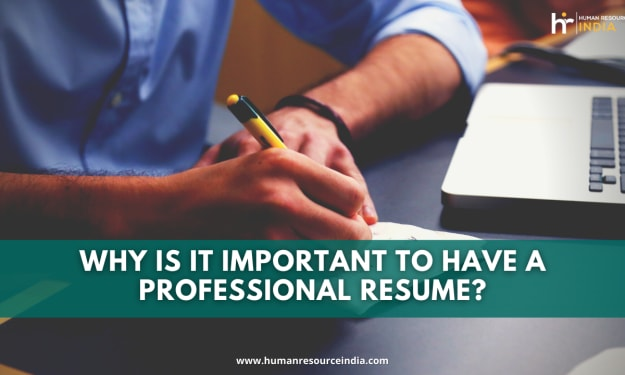 Why is it important to have a professional resume?