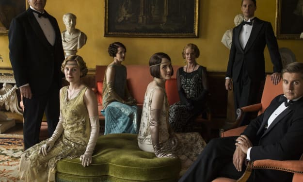 The Beautiful Costumes on Downton Abbey