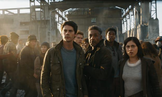 """My Review of """"Maze Runner: The Death Cure"""""""