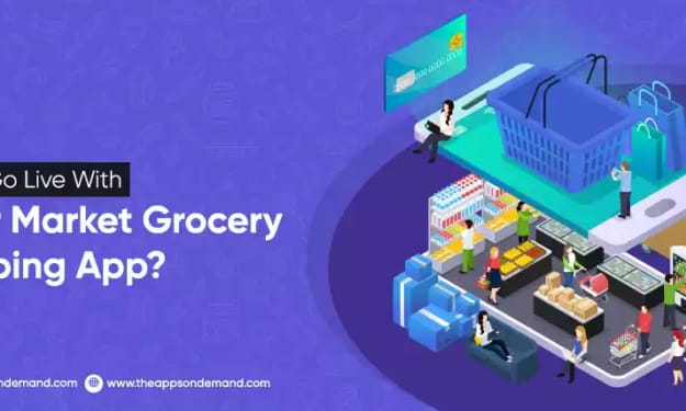 How To Go Live With Super Market Grocery Shopping App?