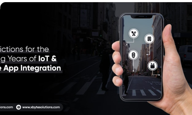 Top 5 Predictions For The Coming Years Of IoT & Mobile App Integration