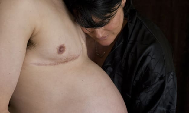 Thomas Beatie-The first-ever male to give Birth