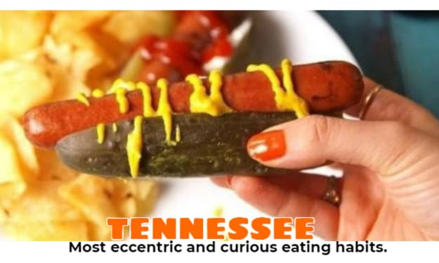 Tennessee-Really Weird Food