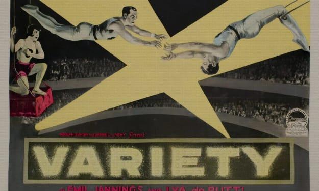 """A Filmmaker's Guide: """"Variete"""" (1925)"""