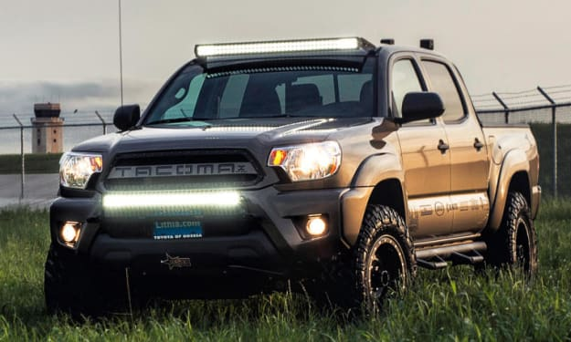 How To Choose The Right LED Light Bar For Your Truck