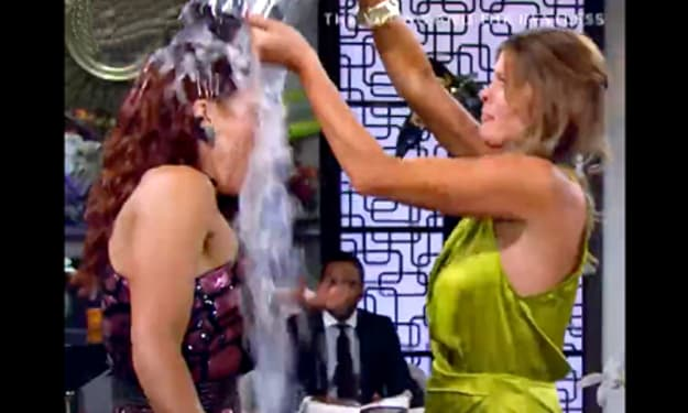 Sally starts the fight with Phyllis on 'The Young and the Restless'
