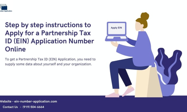 How Do I Get Partnership Tax ID (EIN) Application Number?