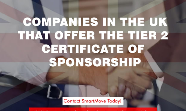 Get to know which Companies are ready to offer the Tier 2 Certificate of Sponsorship in UK.