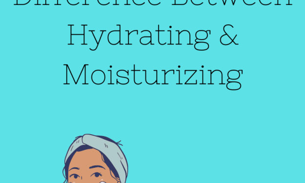Caring for Your Skin:  Hydrating V. Moisturizing