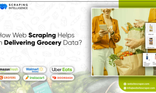 How Web Scraping Helps in Delivering Grocery Data?
