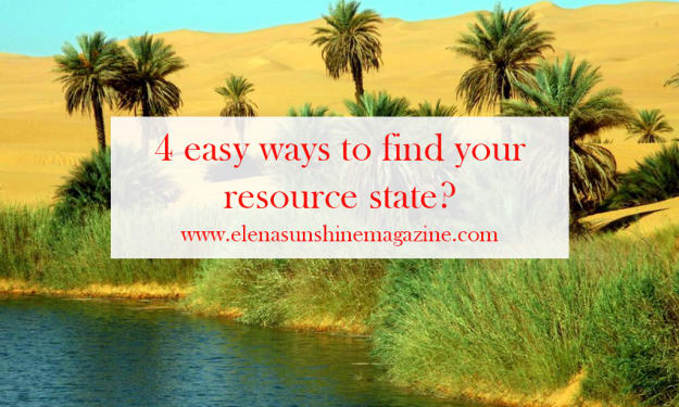 4 easy ways to find your resource state?