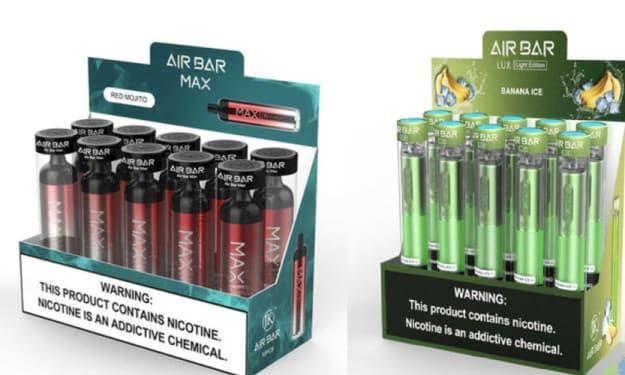 Feel the Vaping Zenith With Air Bar Series