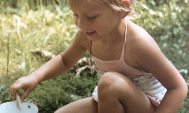 Little Girl Lost in the Woods