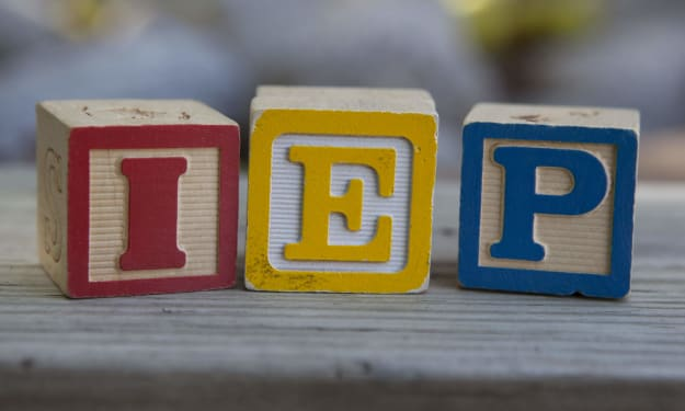 I'm proud that I had an IEP