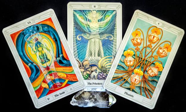 Weekly Reading #38 for 2021   Mirror Dragon Tarot