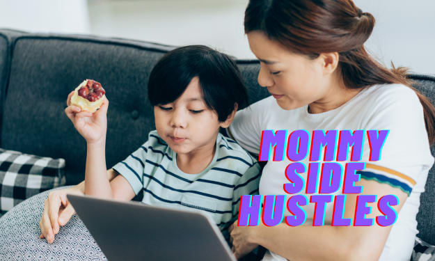 Online Side Hustle Ideas For Stay at Home Moms