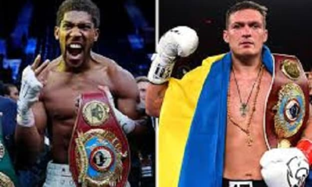 Heavyweight Anthony Joshua to fight Ukrainian cruiserweight champ