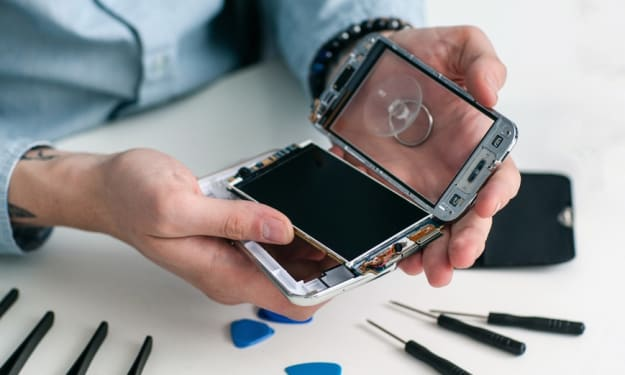 Specialists in Cell Phone Repair Work