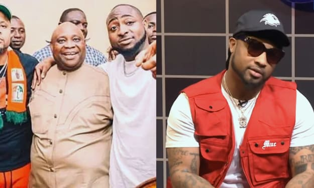 Why Davido's Billionaire Parents Didn't Help His Music - Cousin, B Red