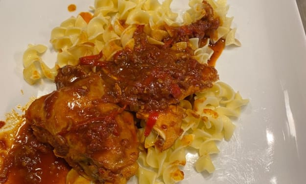 Chicken Paprikás-The Quintessential Hungarian Dish.