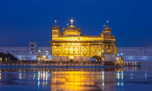 The Golden Temple of Amritsar Then and Now