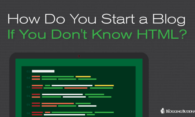 How To Start A Blog Without Knowing How To Code