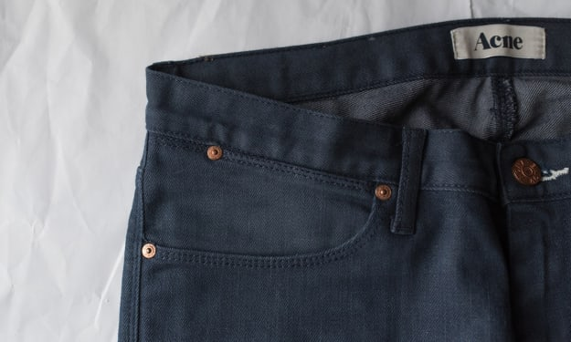 Don't Do This When You're Using Raw Denim