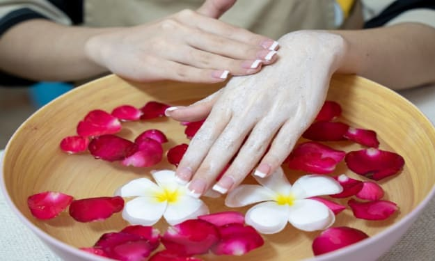 Dry hands care. Rules and guidelines