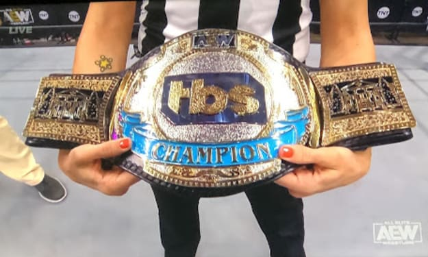 AEW Unveils the TBS Championship