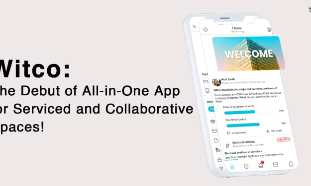 Witco: The Debut of All-in-One App for Serviced and Collaborative Spaces!