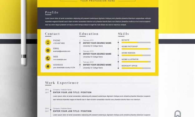 Best CV Template2021