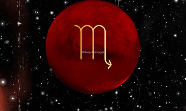 Mars In Scorpio Vibes: October 30th, 2021