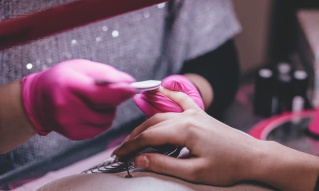 Nail Prep for at Home Extensions