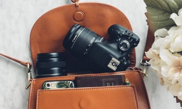 Functional Camera Bags for Women That Look Great Too